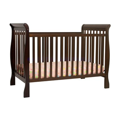 DaVinci Jamie Two Piece Convertible Crib Set in Espresso