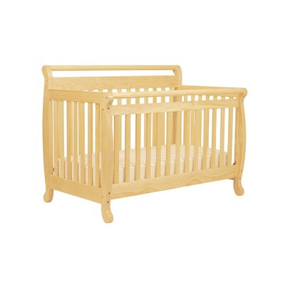 DaVinci Emily 4-in-1 Convertible Crib with Toddler Rail in Cherry