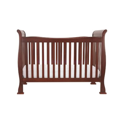 DaVinci Reagan Three Piece Convertible Crib Nursery Set with Toddler Rail in Cherry