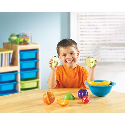 Smart Snacks Counting Fun Fruit Bowl 16 Piece Set