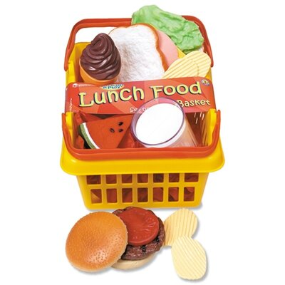 Learning Resources Pretend and Play Dinner Foods Basket