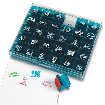 Learning Resources Jumbo Teacher Stamps 30 Piece Set