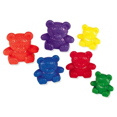 Learning Resources Three Bear Family Rainbow Counters 96 Piece Set