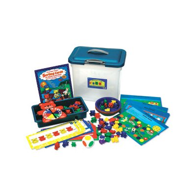 Three Bear Family Sort Pattern and Play Activity 134 Piece Set