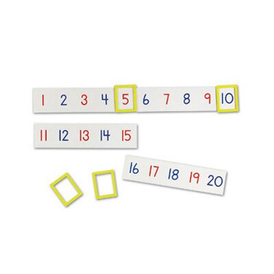Learning Resources Magnetic Number Line 24 Piece Set