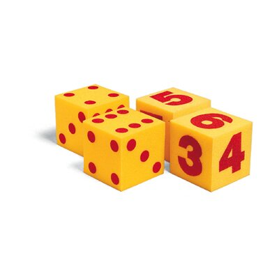 Learning Resources Giant Soft Cubes Numeral 2/pk 5