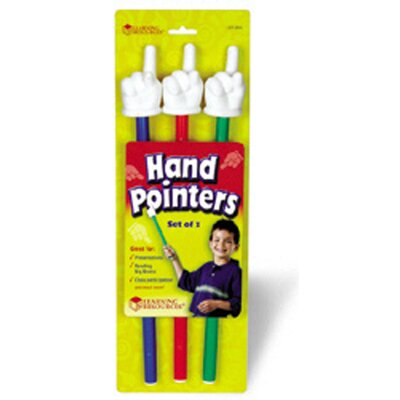 Learning Resources Hand Pointers 3-set Assorted Colors