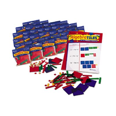 Learning Resources Algebra Tiles Classroom 30-set
