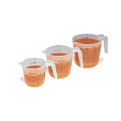 Learning Resources 3 Piece Liquid Measures Cup, Pint and Quart