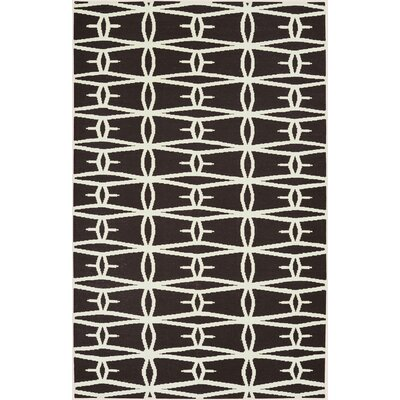 Jill Rosenwald Rugs Fallon Black/Cream Rug