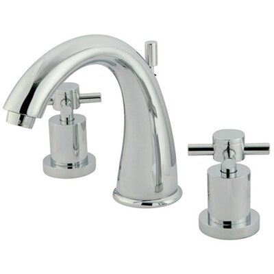 Tampa Widespread Bathroom Faucet with Double Cross Handles - ES296