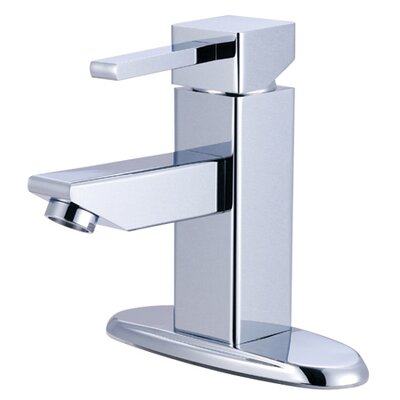 Elements of Design Nuvo Single Hole Bathroom Faucet with Single Lever Handle