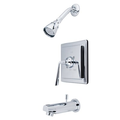Elements of Design Volume Control Tub Shower Faucet Set