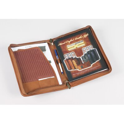 Claire Chase Zippered Folio