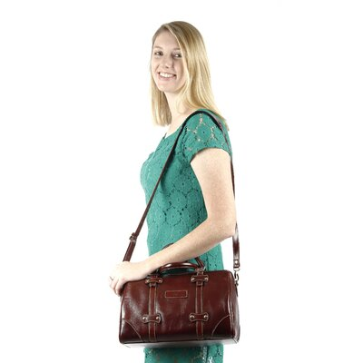 Claire Chase Martinque Italian Leather Handbag
