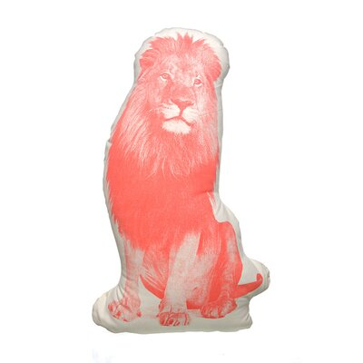 Fauna Organic Cotton Lion Pillow