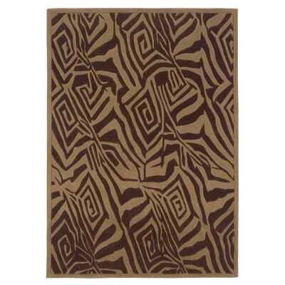 Trio Chocolate/Beige Rug