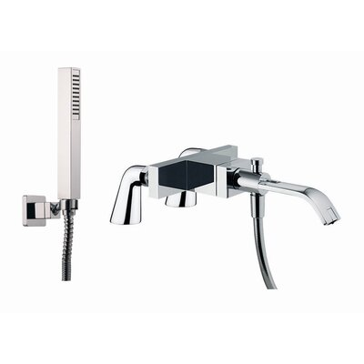 Fima by Nameeks Bio Single Handle Deck Mount Diveter Tub Faucet with Hand Shower