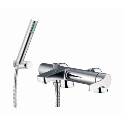 Fima by Nameeks Matrix Single Handle Deck Mount Diveter Bath Tub Faucet with Hand Shower