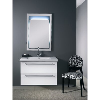 "Iotti by Nameeks Fly FL6 35.8"" Wall Mounted Bathroom Vanity Set"