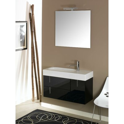 Iotti by Nameeks Enjoy NE5 34.9&quot; Wall Mounted Bathroom Vanity Set