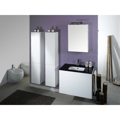 "Iotti by Nameeks Time 31.5"" NT7 Wall Mounted Bathroom Vanity Set"