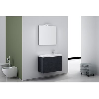"Iotti by Nameeks Happy Day 31"" Wall Mount Bathroom Vanity Set"