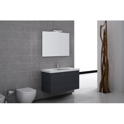 Iotti by Nameeks Space 39&quot; Wall Mount Bathroom Vanity Set