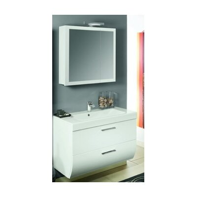 "Iotti by Nameeks New Day 38.3"" Wall Mounted Bathroom Vanity Set"