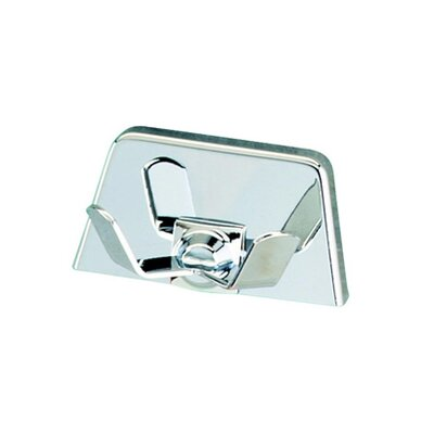 Geesa by Nameeks Standard Hotel Double Coat / Towel Hook in Chrome