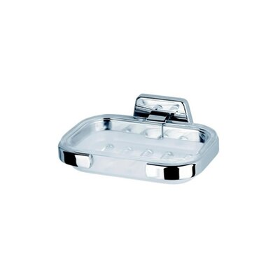 Geesa by Nameeks Standard Hotel Soap Dish in Chrome