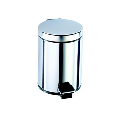 Geesa by Nameeks Standard Hotel Pedal Waste Bin in Stainless Steel