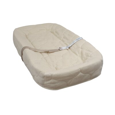 4-Sided Square Corner Changing Pad with Quilted Cover