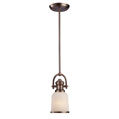 Landmark Lighting Brooksdale 1 Light Mini Pendant