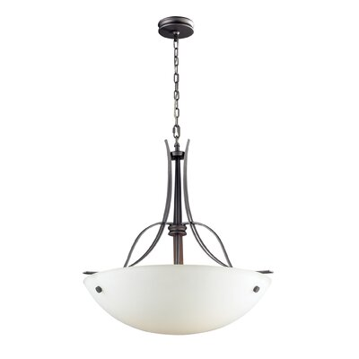 Landmark Lighting Franklin Creek 3 Light Inverted Pendant