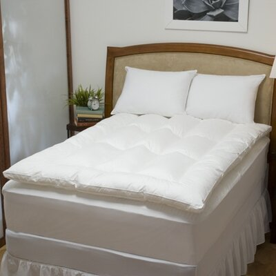 Soft-Tex Executive Suite 100% Cotton Feather / Fiber Bed with Pillows