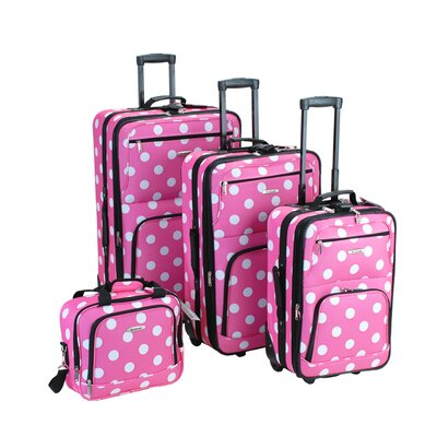 Rockland 4 Piece Luggage Set