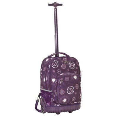"Rockland 19"" Rolling Backpack with Build in Laptop Compartment"
