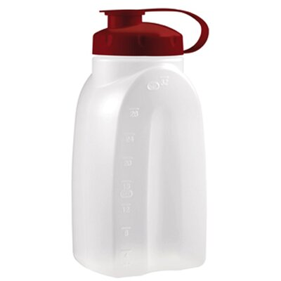 Rubbermaid 1 Quart Servin Saver Bottle in White