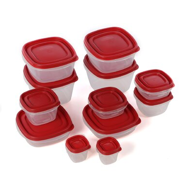 Rubbermaid Easy Find Lids (Set of 24)