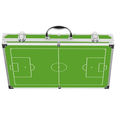 Vabene 18-tlg. Profi-Grillkoffer &quot;Goal&quot; aus Aluminium