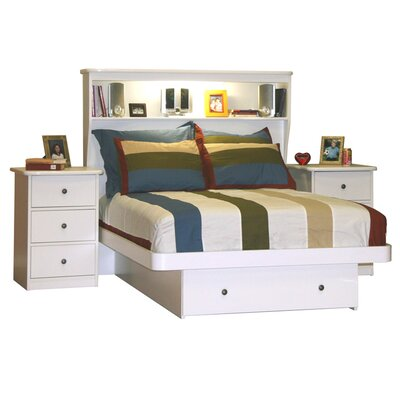Berg Furniture Sierra Full Storage Platform Bed