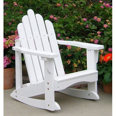 Marina Kids Adirondack Rocking Chair Chair