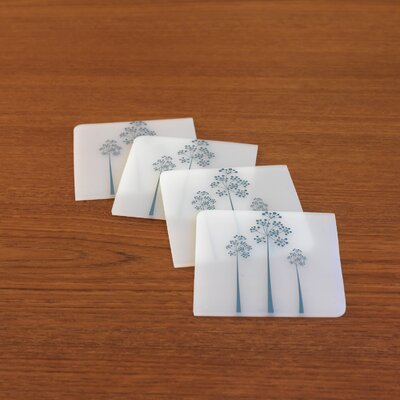 Modern-Twist Coaster Notz Tree of Us Coaster Set
