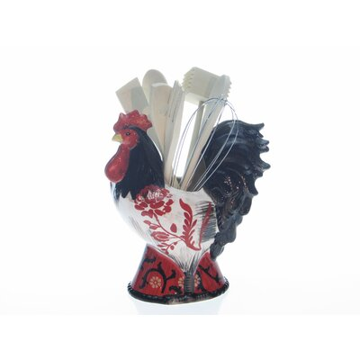 Certified International La Provence Rooster 3-D Tool Set by Jennifer Brinley (8 Piece)
