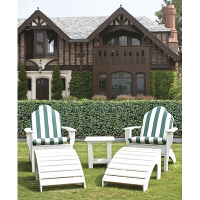 Chesapeake Adirondack Chair and Foot Stool