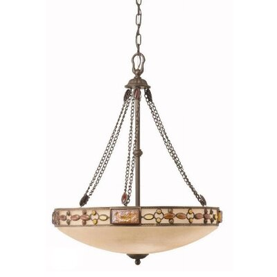 Kichler Joya 3 Light Inverted Pendant