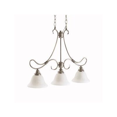 Stafford 3 Light Kitchen Island Pendant