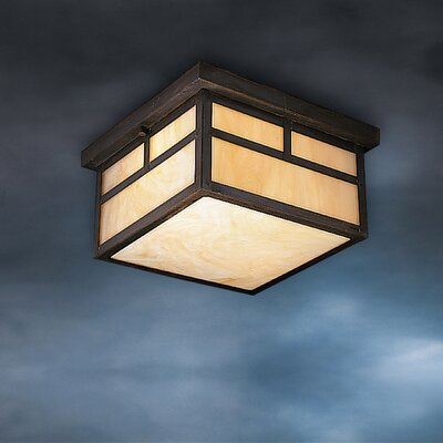Kichler Canyon View Outdoor Flush Mount