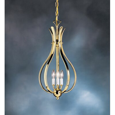 Kichler Dover 3 Light Foyer Pendant